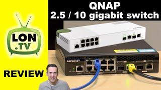 QNAP Multigigabit Switch Review - Eight 2.5 gigabit \u0026 Two 10 gig Ports QSW-M2108-2C \u0026 QSW-M2108R-2C