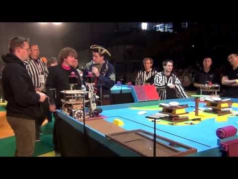 2012 - PM-ROBOTIX vs Revolutionn' AIR - Coupe de France de robotique : Série 1