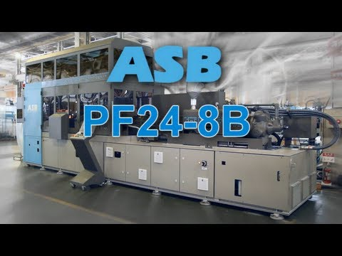 Nissei ASB - PF24-8B 1.5 Step Injection Stretch Blow Molding