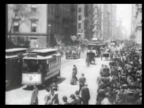 Lower Broadway, Manhattan 1902