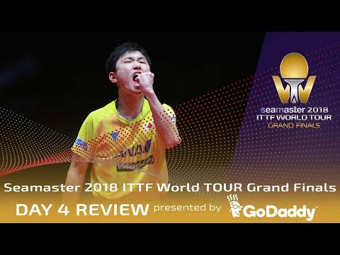 Day 4 Review by GoDaddy | 2018 ITTF World Tour Grand Finals