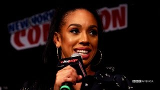 Meet PEARL MACKIE - DOCTOR WHO New York Comic Con Highlight 2016