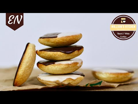 NYC's Famous Black And White Cookies Recipe || William's Kitchen