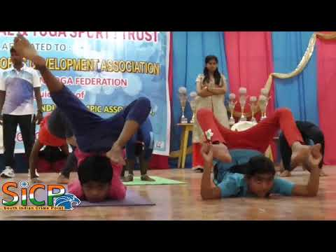 Tamil Cultural and Yoga Sports Trust, state-level yoga competition