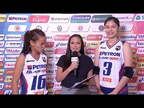 Match MVPs: Sisi Rondina and Mika Reyes | PSL All-Filipino Conference 2018