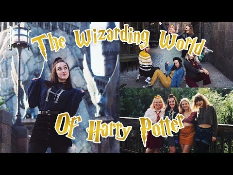 THE WIZARDING WORLD OF HARRY POTTER L Vlog.