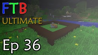 Minecraft: FTB ULTIMATE Ep. 36 - Rubber Farm and Apple Juice