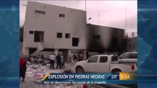Las Noticias - Explosión en las instalaciones de SAT en Piedras Negras Coahuila