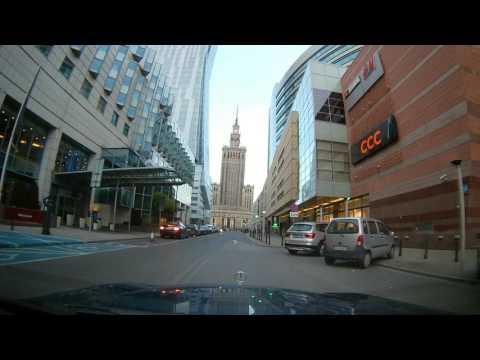Jazda po centrum Warszawy