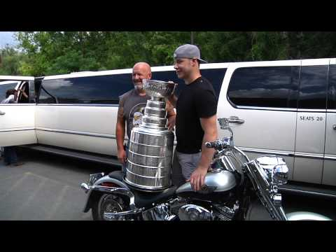 Dustin Brown's Day With The Stanley Cup