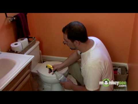 Green Cleaning a Toilet
