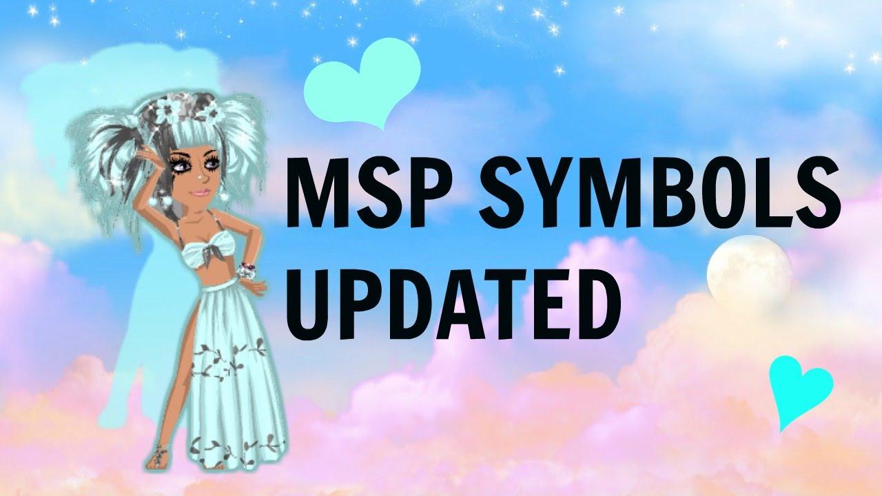 Msp symbols updated youtube biocorpaavc Choice Image