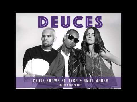 Chris Brown Ft. Amal Maher & Tyga - Deuces (Johnny Mazeeka Mash Up) امال ماهر - اتقي ربنا فيا