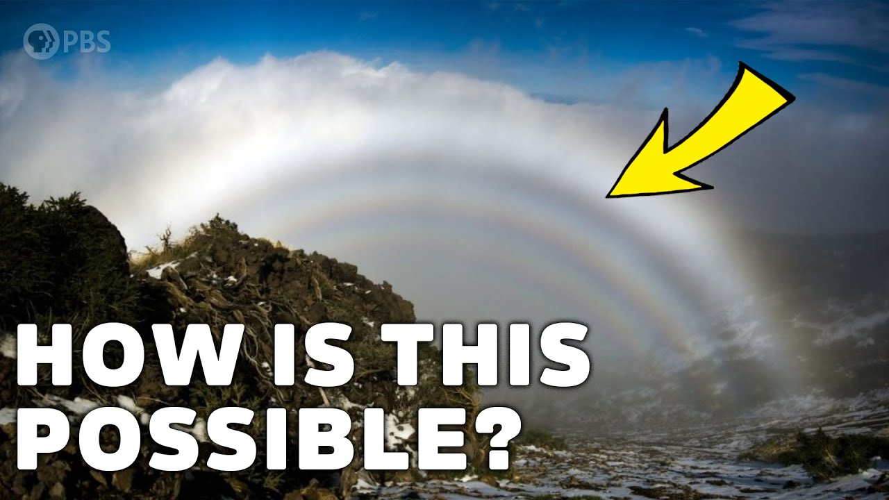 Download How rainbows with NO COLOR are possible
