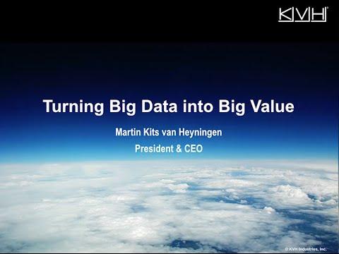 NorShipping CIO Forum - Turning Big Data Into Big Value