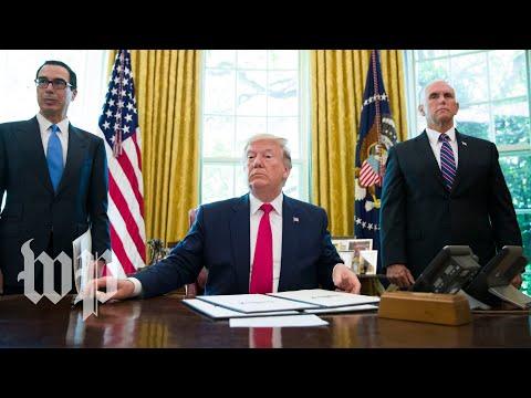 Trump announces new 'hard-hitting' economic sanctions on Iran