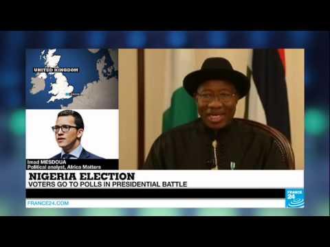 NIGERIA - Presidential battle goes to polls