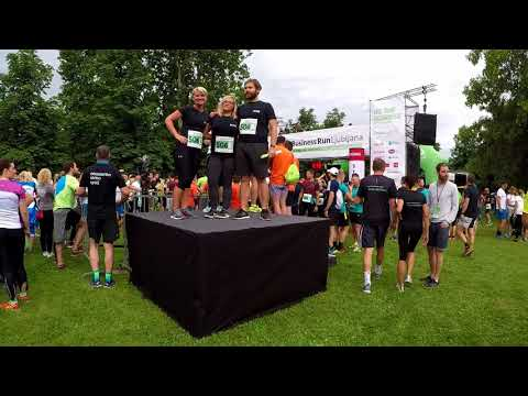 EUSA at the Business Run Ljubljana 2018