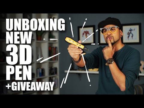 Bucketbolt 3D pen review | Unboxing with Rob + Giveaway | MadstuffwithRob
