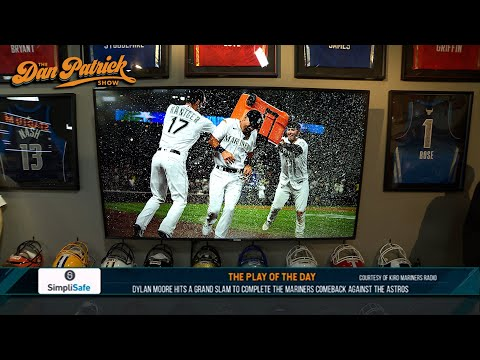 Play of the Day: Dylan Moore Hits Grand Slam To Complete Mariners Comeback Against Astros | 07/27/21