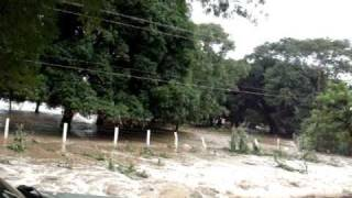 Desbordamiento Rio Jamapa - Huracan Karl