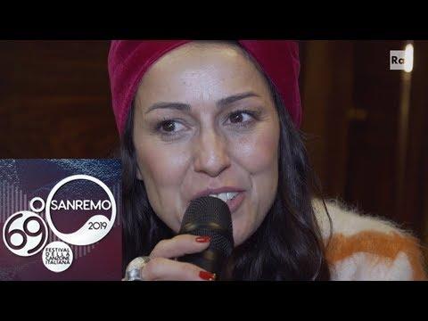 Sanremo 2019 - Syria: 'la mia amicizia con Anna Tatangelo'