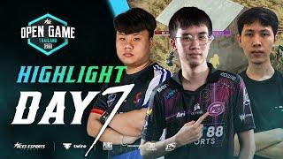 ไฮไลท์ AE League: Open Game Thailand | GRAND FINAL Match 31-35 (DAY 7) |แข่งพับจี | PUBG Highlights