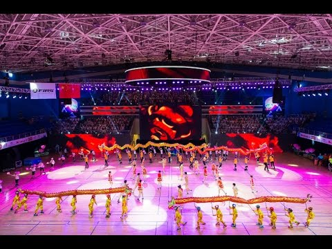 Worlds Championships Nanjing 2016 - Opening Ceremony