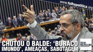 Ministro Abraham Weintraub denuncia, frente a frente, deputados financiados para sabotagem e rel..