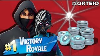 FORTNITE-! RAFFLE OF VBUCKS, SQUADS THE FLOOR IS LAVA AND KING SENDS #250
