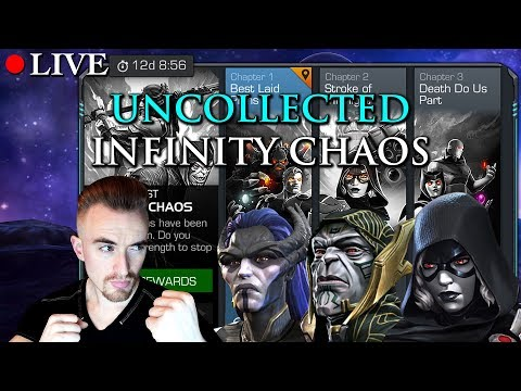 LIVE: Uncollected - Infinty Chaos | Marvel: Contest of Champions