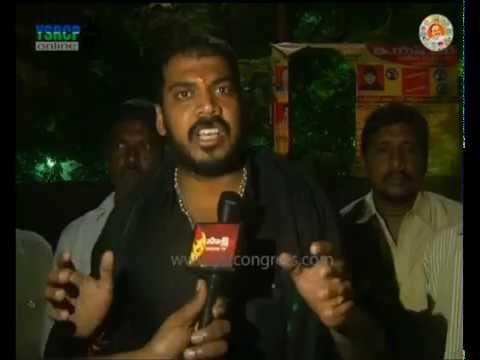 Nellore: YSRCP MLA Anil Kumar visited flood effected area & distributed food - 20th Nov 2015