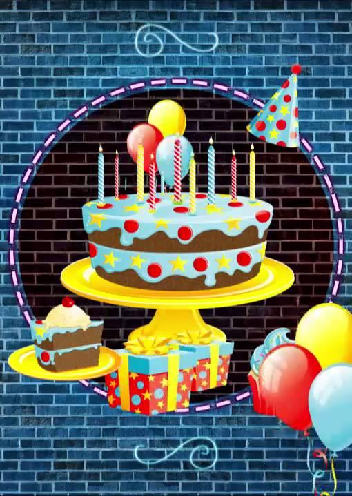 É Hora de Comemorar Cartão de Aniversário Mágico iPostal - YouTube