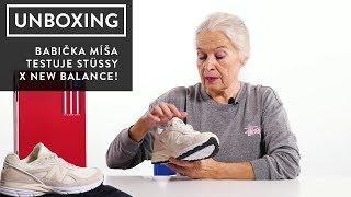 Babička Míša hodnotí Stüssy x New Balance!