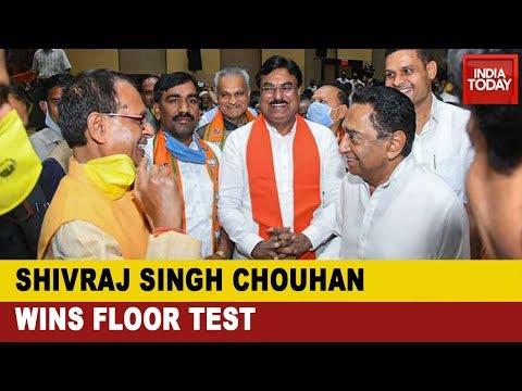 Madhya Pradesh CM Shivraj Singh Chouhan Wins Floor Test In Assembly