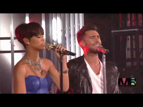 Maroon 5 ft Rihanna If I Never See Your Face AgainFNMTV 2008HD HD
