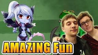 Miracle- & Arteezy Dota 2 - AMAZING Funny GAME