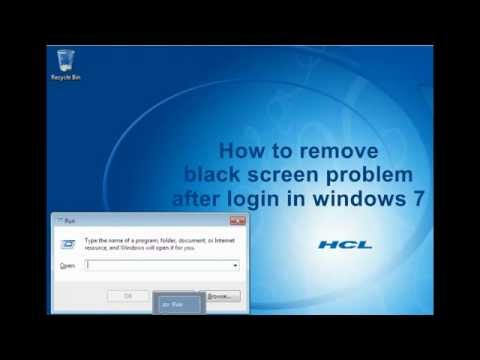 How to fix a black screen on Windows 7 - Quora