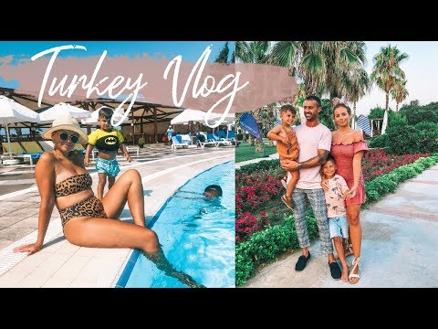 TURKEY VLOG | FAMILY HOLIDAY | TUI FAMILY LIFE SIDE | Lucy Jessica Carter
