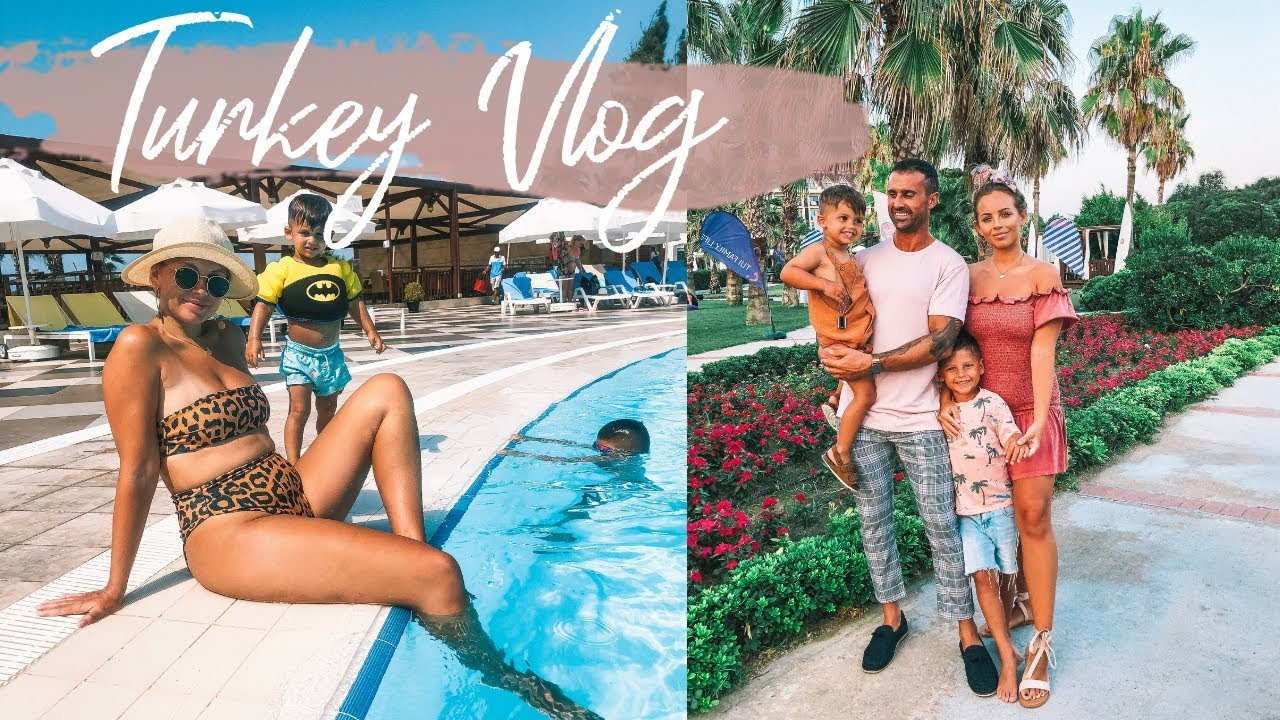 TURKEY VLOG   FAMILY HOLIDAY   TUI FAMILY LIFE SIDE   Lucy Jessica Carter