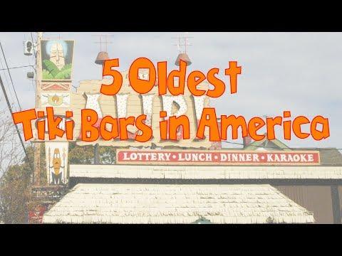 5 Oldest Tiki Bars In America