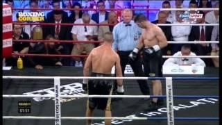 Boxmeister Europakämpfe Hauptsponsor Zenit Vodka - II