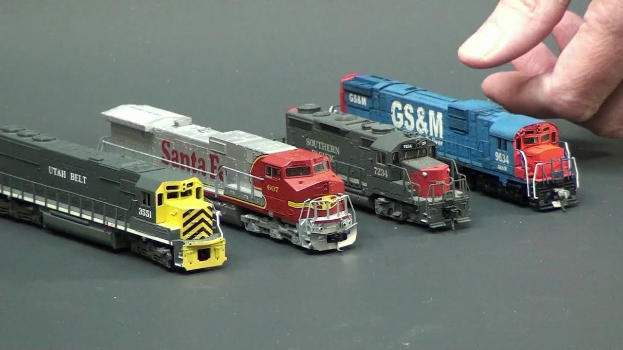 NScale quick Shell Removal YouTube – Kato Model Train Engine Diagram