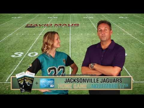 David Maus Automotive Is Giving Away Free Jacksonville Jaguar Tickets!