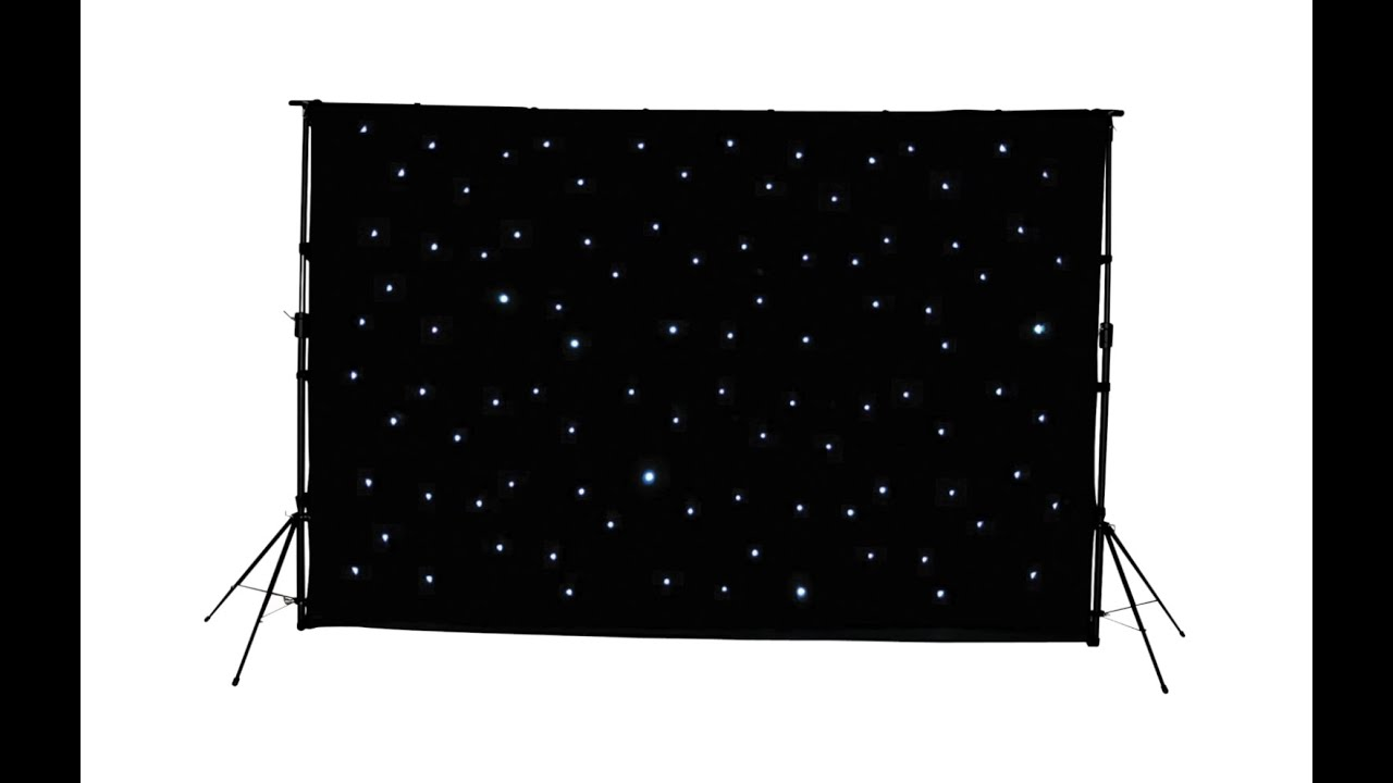 Star Cloths - LED Backdrop Prestige Sound & Light
