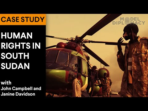 Humanitarian Intervention in South Sudan: A Model Diplomacy Case Study