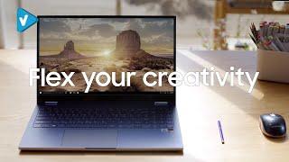 #Samsung News: Galaxy Book Flex: Built for Creatives | Samsung #GalaxyBook #ExpandYourGalaxy