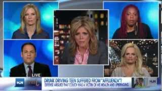 CNN HLNs Jane Velez-Mitchell Show on 'Too spoiled for prison?'