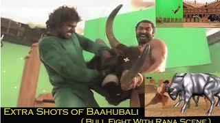 Extra Shots of Bahubali : Bull Fight With Rana Scene