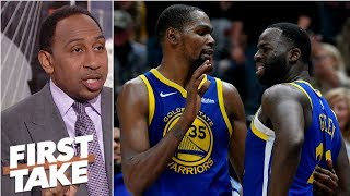 Download Draymond questioned Kevin Durant's 'commitment' to Warriors - Stephen A. | First Take Mp3 and Videos